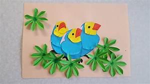 Vögel Basteln Zum Aufhängen : die v gel basteln mit buntpapier mit schablone zum download youtube ~ A.2002-acura-tl-radio.info Haus und Dekorationen