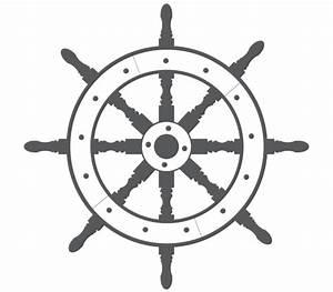 Ship Steering Wheel Free Vector | 123Freevectors