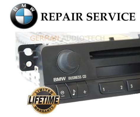 bmw  business cd player radio stereo volume control