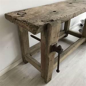 Etabli Fait Maison : etabli bois ancien les happyvintage ~ Premium-room.com Idées de Décoration