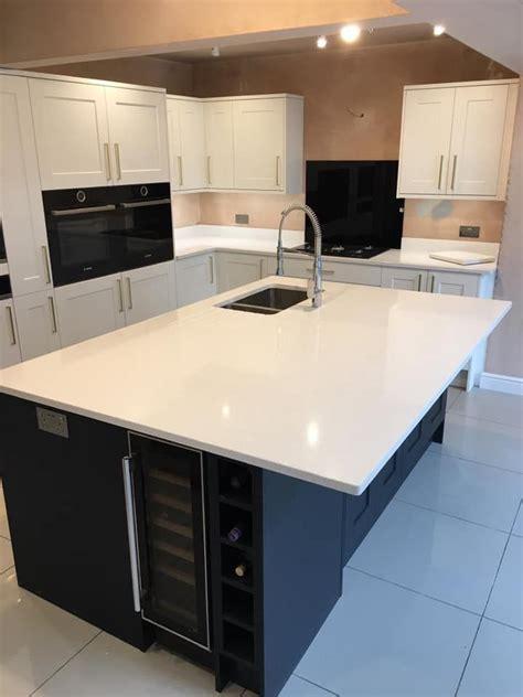 silestone blanco maple quartz worktop kitchen