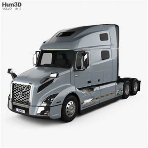 Volvo VNL (760) Tractor Truck 2018 3D model - Vehicles on
