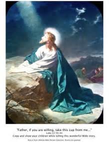 Jesus Praying Garden Gethsemane