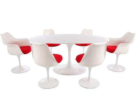 Tisch Mit 6 Stühlen by Tisch Saarinen Mit 6 St 252 Hlen