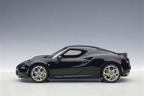 Highly Detailed Autoart Die-cast Model Glossy Black Alfa