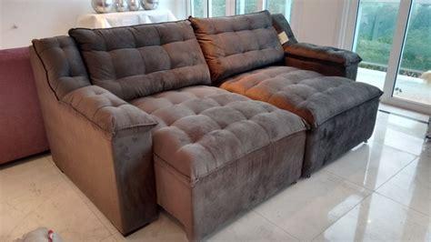 sofa retratil lindo novo ceia de natal em