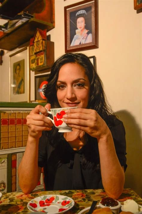Archie Panjabi's At Home In A Village Tea Shop  Ny Daily News
