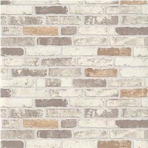 Erismann Brix Brick Effect Wallpaper 6703-11 - Beige I
