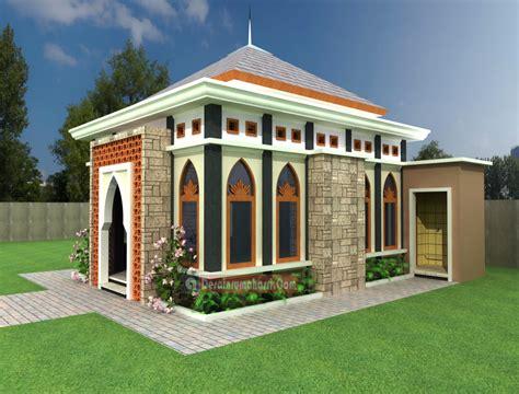 mushola cantik desain rumah asri