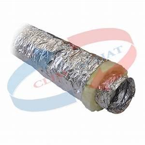 Laine De Verre Phonique : gaine de soufflage conduit circulaire ouate de polyester ~ Dailycaller-alerts.com Idées de Décoration