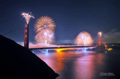 anniversary fireworks golden gate bridge
