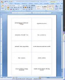 word flash cards images