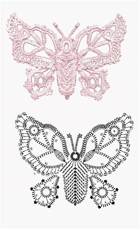 all uncinetto intrecci incantati farfalle all uncinetto