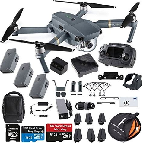 dji mavic pro fly  combo collapsible quadcopter drone