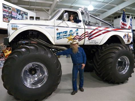 what happened to bigfoot the monster truck everett jasmer and usa 1 reinvigorated in the monster