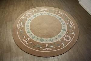 Teppich Rund Wolle : teppich original nepal rund 250x250 cm 100 wolle ~ Watch28wear.com Haus und Dekorationen