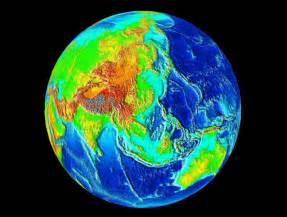 Earth Topography