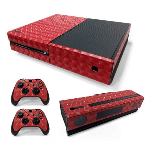 Free Drop Shipping For 3d Cats Eye Film Material Red Sticker For Xbox One Console And 2