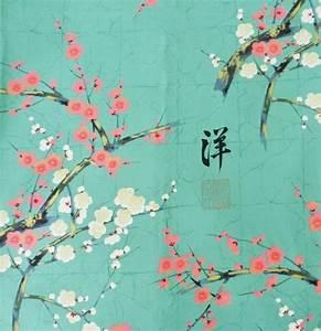 les 25 meilleures idees de la categorie peinture de With affiche chambre bébé avec poster cerisier japonais en fleur