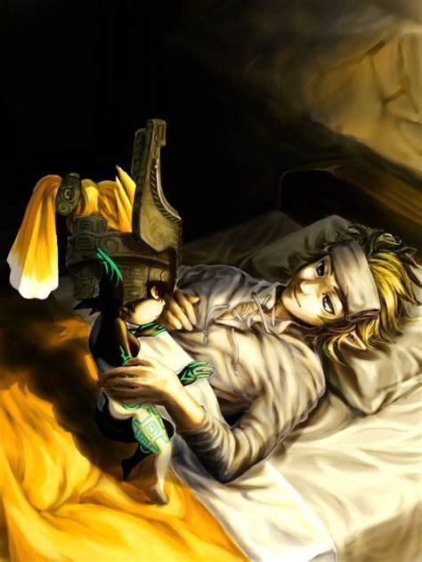 Legend Of Zelda Twilight Princess Link And Midna Legend