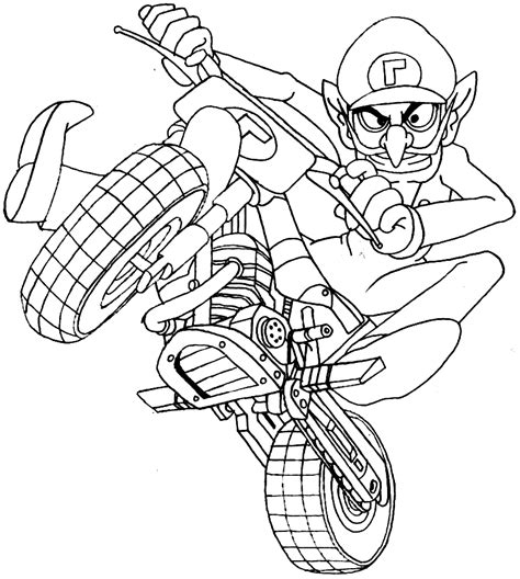 disegni da colorare mario kart 8 deluxe mario kart coloring pages best coloring pages for