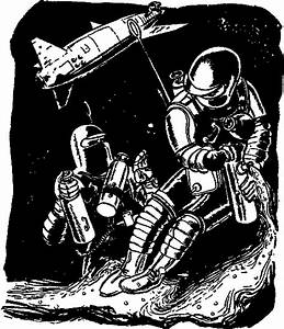 Clip Art Astronaut Tether (page 3) - Pics about space
