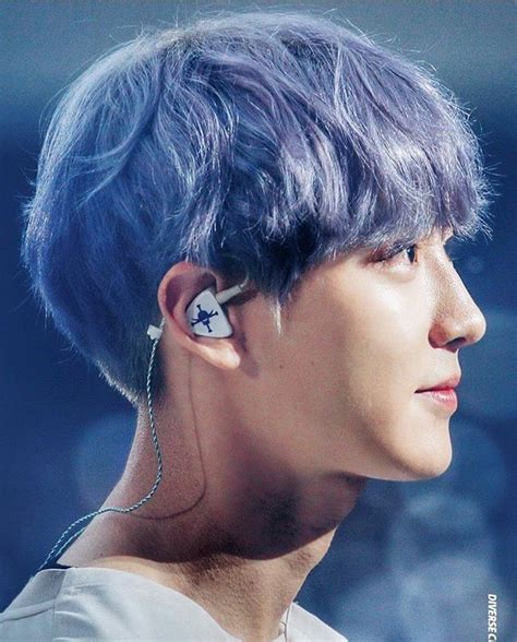 Blue Hair Name by Blue Hair Chanyeol Chanyeol Park Chanyeol