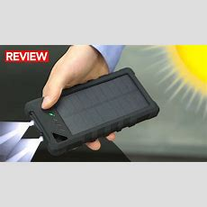 Best Waterproof Solar Power Bank  A Must For Survival