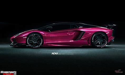 10 metallic pink chrome lamborghini aventador lp700 ...