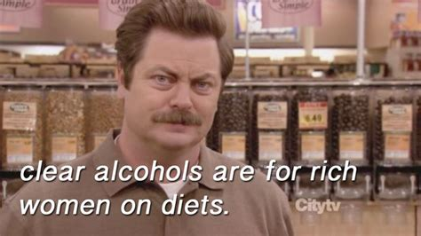 Ron Swanson Memes - 73 alcohol memes to enjoy while the bartender ignores you