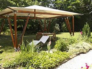 Tonnelle En Bambou : tonnelle de jardin azur 4 x 3m lams ~ Premium-room.com Idées de Décoration