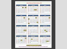 Sabah Malaysia Public Holidays 2015 – Holidays Tracker