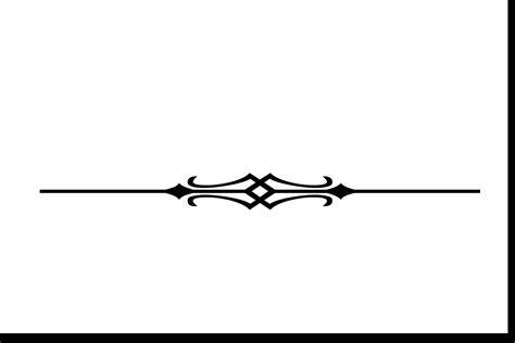 Decorative Divider Lines - decorative line dividers cliparts co