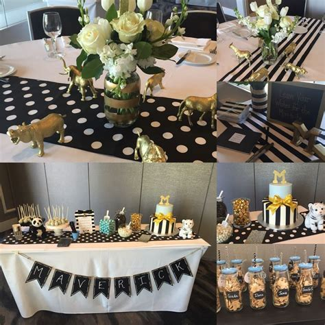 black and gold baby shower best 25 turquoise baby showers ideas on
