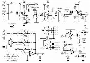 Eb4a3 Bass Guitar Preamp Wiring Diagram