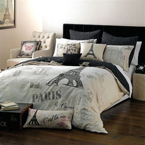 paris themed bedding  adults trend alert chic