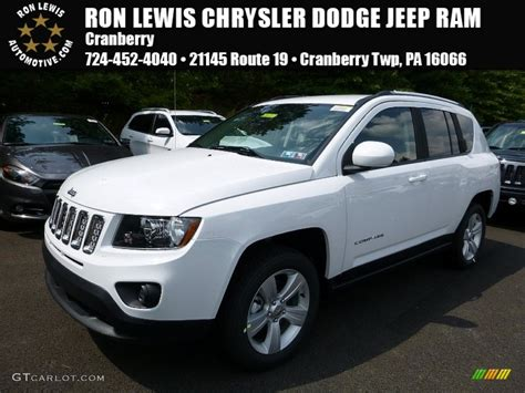 white jeep 2016 2016 bright white jeep compass latitude 4x4 106977388