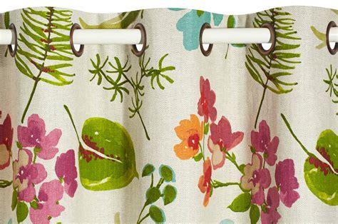 tissus cuisine cuisine rideau de en tissu sensea multicolore x cm