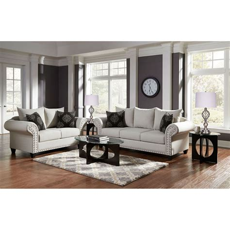 woodhaven industries living room sets 7 piece beverly
