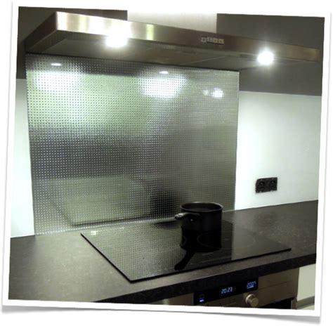 crédence verre trempé cuisine credence de cuisine en verre trempe master carré argenté