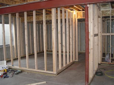 wood loft how to build a stud wall with your own