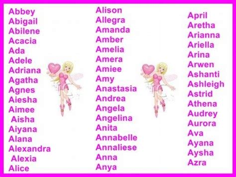 girls names  meanings baby names girl names