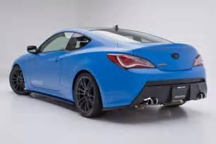 2018 Hyundai Genesis Coupe Blue