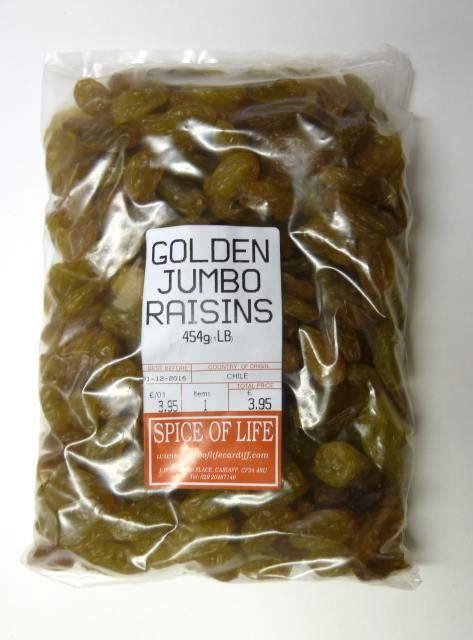 Golden Raisins Jumbo 250g raisins golden jumbo the spice of