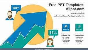 Rising Arrow Chart Powerpoint Diagram For Free