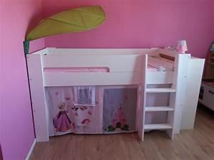 Lit En Hauteur Enfant : la collection wax un lit modulable d 39 abord un lit mi ~ Melissatoandfro.com Idées de Décoration