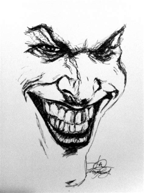 Joker Sketch | Joker sketch, Sketches
