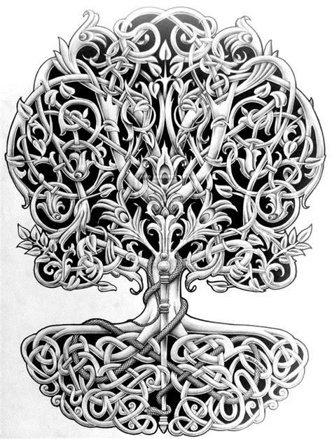 Yggdrasil   Tattoo   Celtic tattoos, Tattoo designs und