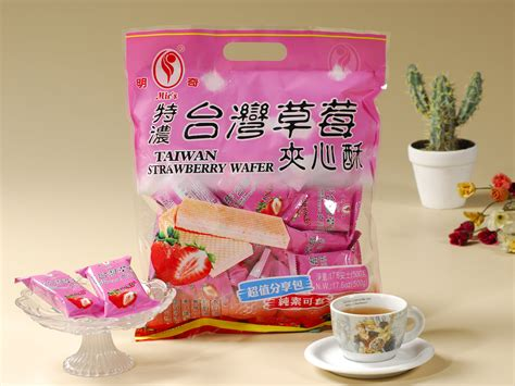 ming chi crackers  wafers gemini food corporation