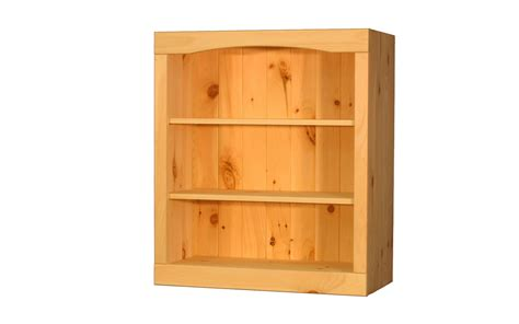 Unfinished Bookcase by Solid Pine Bookcase 24w X 29h X 12d By Thewoodlandmills On
